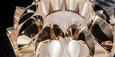 Slamp Lampe sur Pied Flora Gold