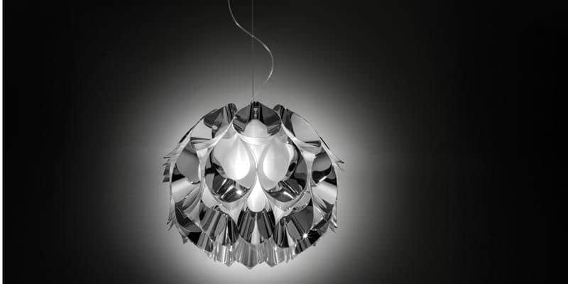 Slamp Suspension Flora M Silver