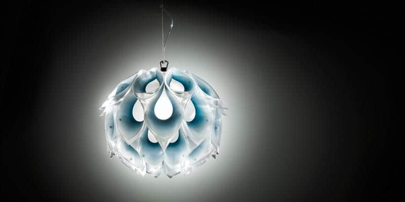 Slamp Suspension Flora S Bleu