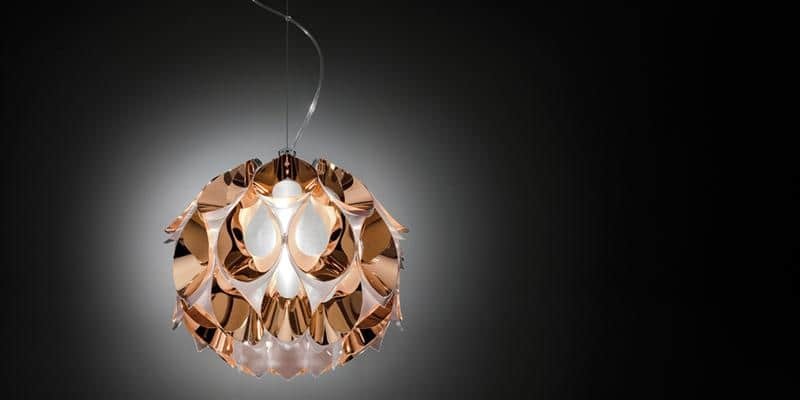 Slamp Suspension Flora S Copper