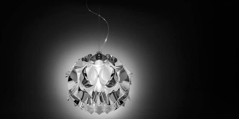 Slamp Suspension Flora S Silver