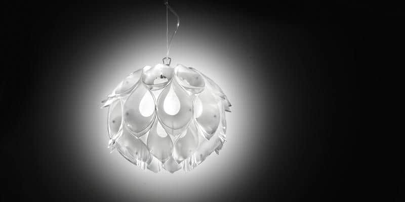 Slamp Suspension Flora S Blanc