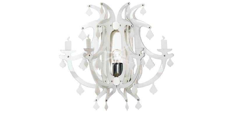 Slamp Applique Murale Ginetta Blanc