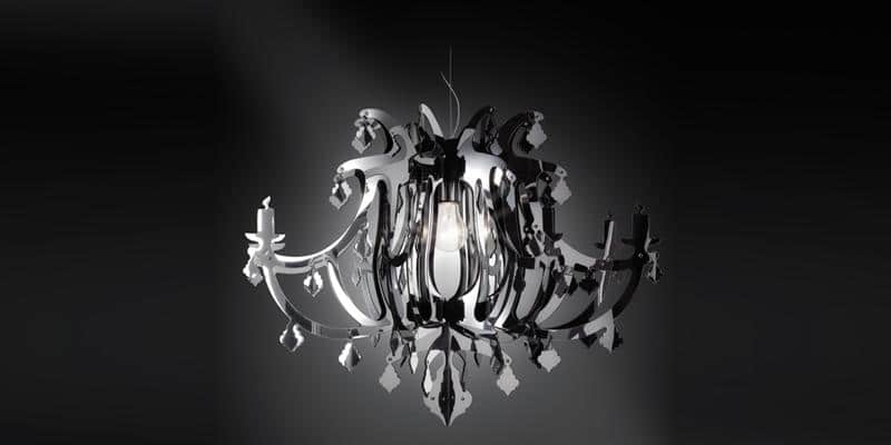 Slamp Suspension Ginetta Gris par Slamp