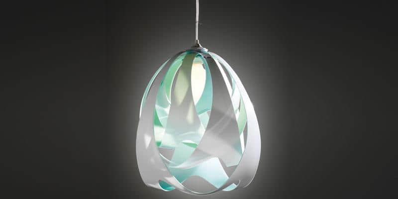 Slamp Suspension Goccia Aqua