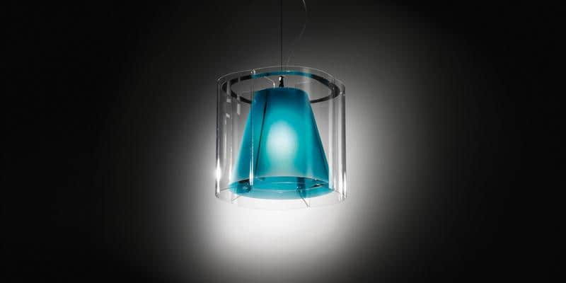 Slamp Suspension Harris Bleu