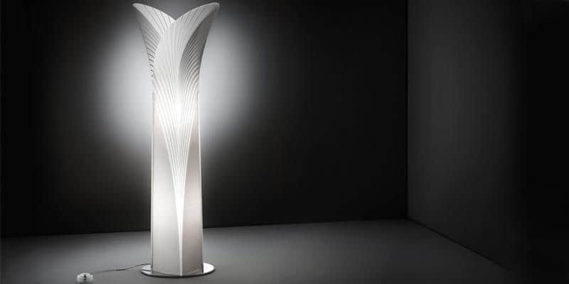 Slamp Lampe à Poser L Las Palmas Blanc