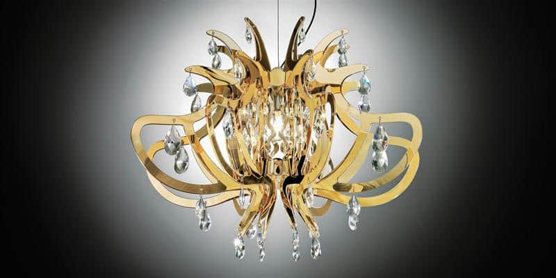 Slamp Suspension Lillibet Gold
