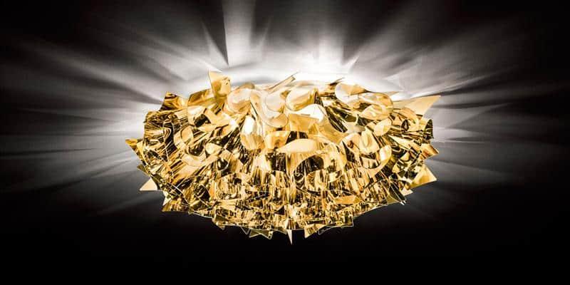 Slamp Plafonnier Veli Gold L