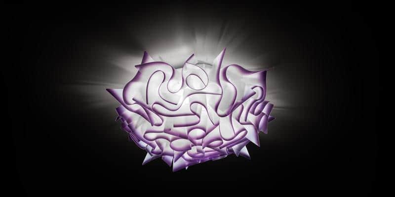 Slamp Plafonnier Veli Violet M