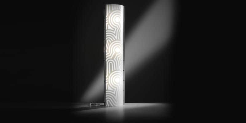 Slamp Lampe Tube XL Venti Blanc
