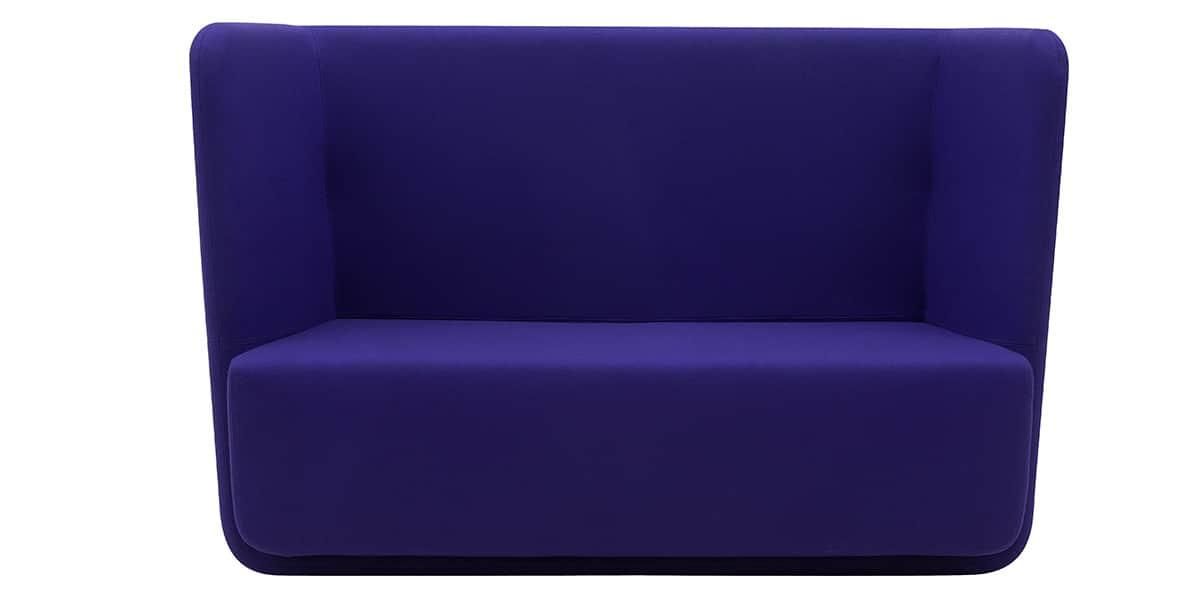 softline basket violet canap s droits sur easylounge. Black Bedroom Furniture Sets. Home Design Ideas