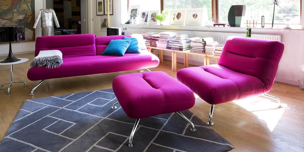 softline blast magenta tous les canap s sur easylounge. Black Bedroom Furniture Sets. Home Design Ideas