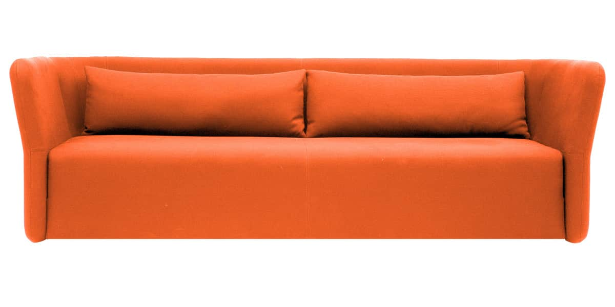 Softline carmen orange tous les canap s sur easylounge - Canape convertible orange ...
