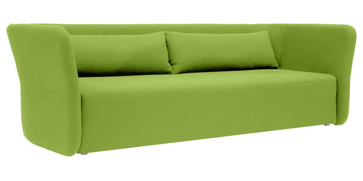 softline carmen vert canap s convertibles sur easylounge. Black Bedroom Furniture Sets. Home Design Ideas