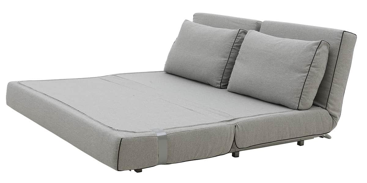 softline city gris canap s convertibles sur easylounge. Black Bedroom Furniture Sets. Home Design Ideas