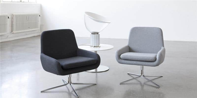 Softline Coco Swivel Gris Clair