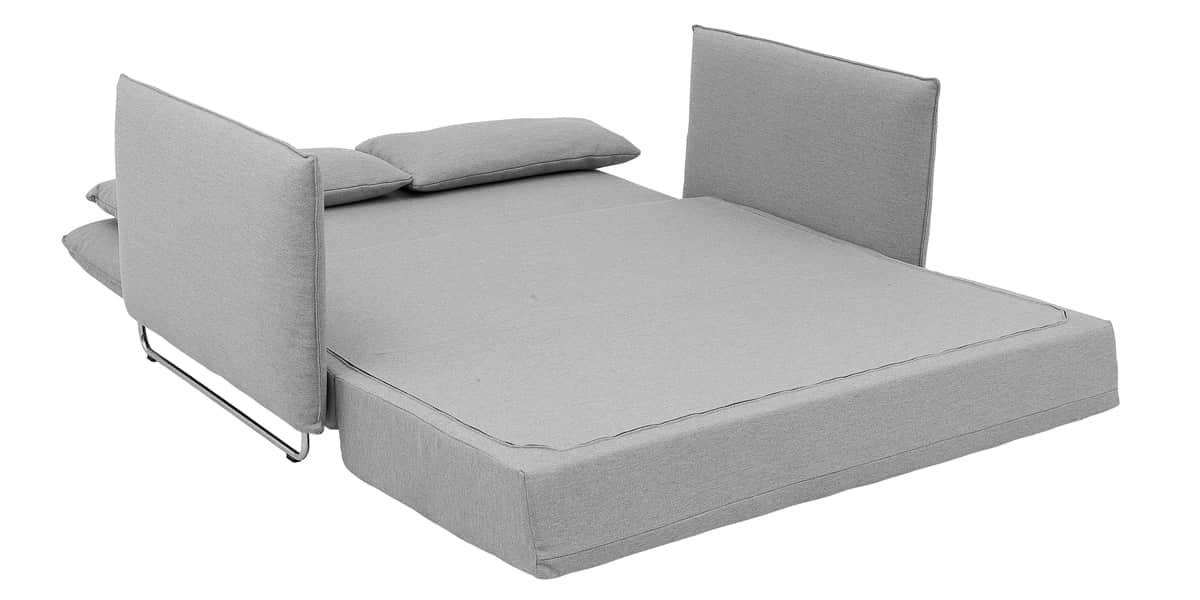 softline cord gris clair canap s convertibles sur easylounge. Black Bedroom Furniture Sets. Home Design Ideas