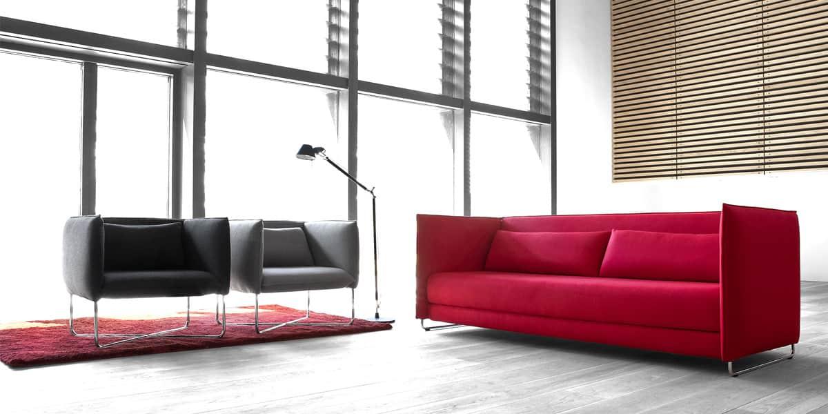 Softline groove gris tous les fauteuils sur easylounge - Deco lounge epure ...