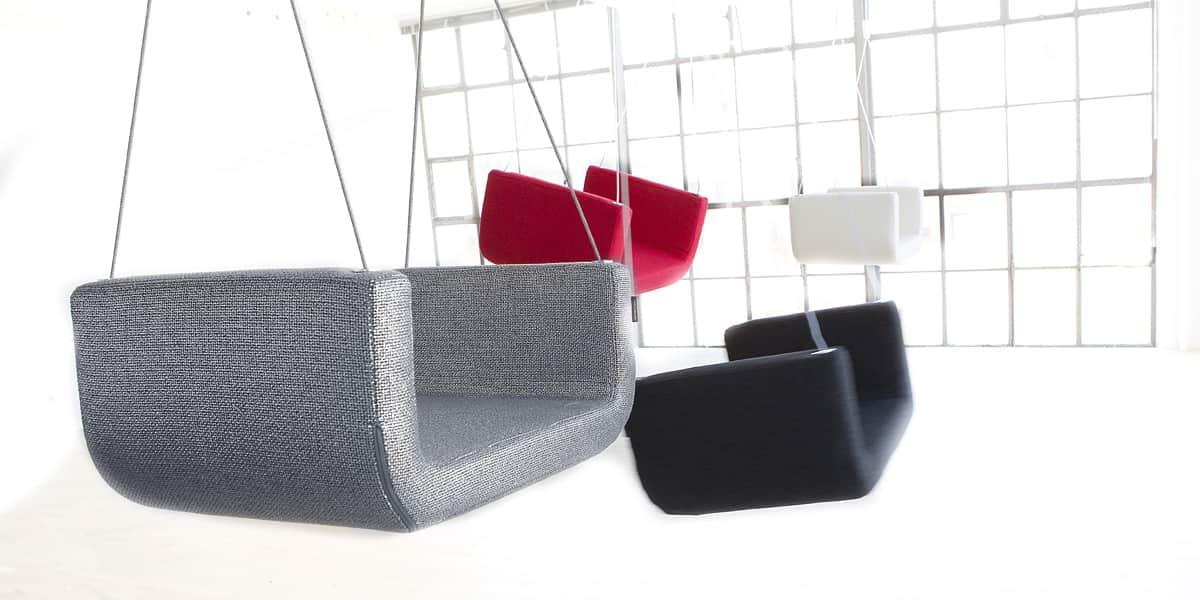 softline me and u gris fonc tous les fauteuils sur easylounge. Black Bedroom Furniture Sets. Home Design Ideas