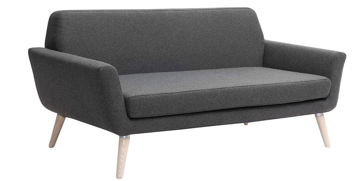 softline scope anthracite canap s droits sur easylounge. Black Bedroom Furniture Sets. Home Design Ideas