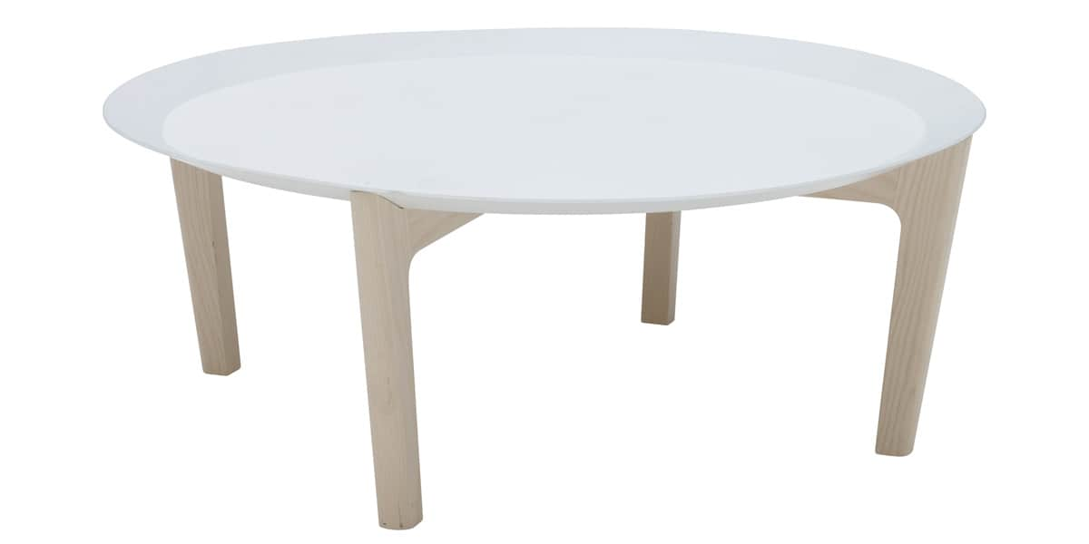Softline tray haute tables basses sur easylounge - Table basse et haute ...