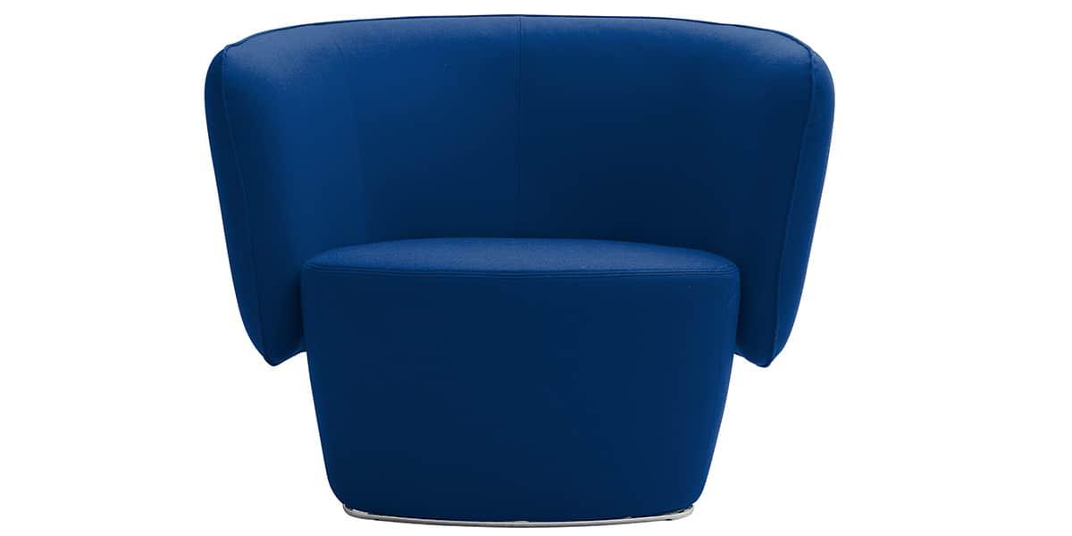Softline venice bleu marine tous les fauteuils sur easylounge - Fauteuil bleu marine ...