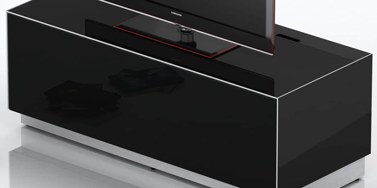 sonorous elements noir meubles tv sonorous sur easylounge. Black Bedroom Furniture Sets. Home Design Ideas