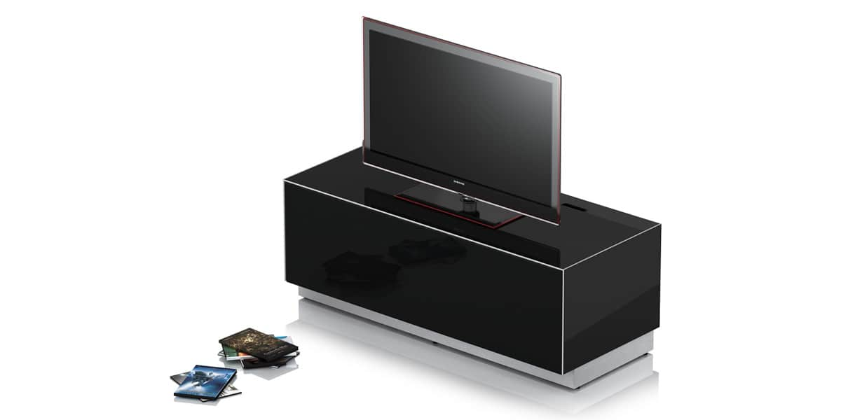 Sonorous elements noir meubles tv sonorous sur easylounge - Meuble tv infrarouge ...