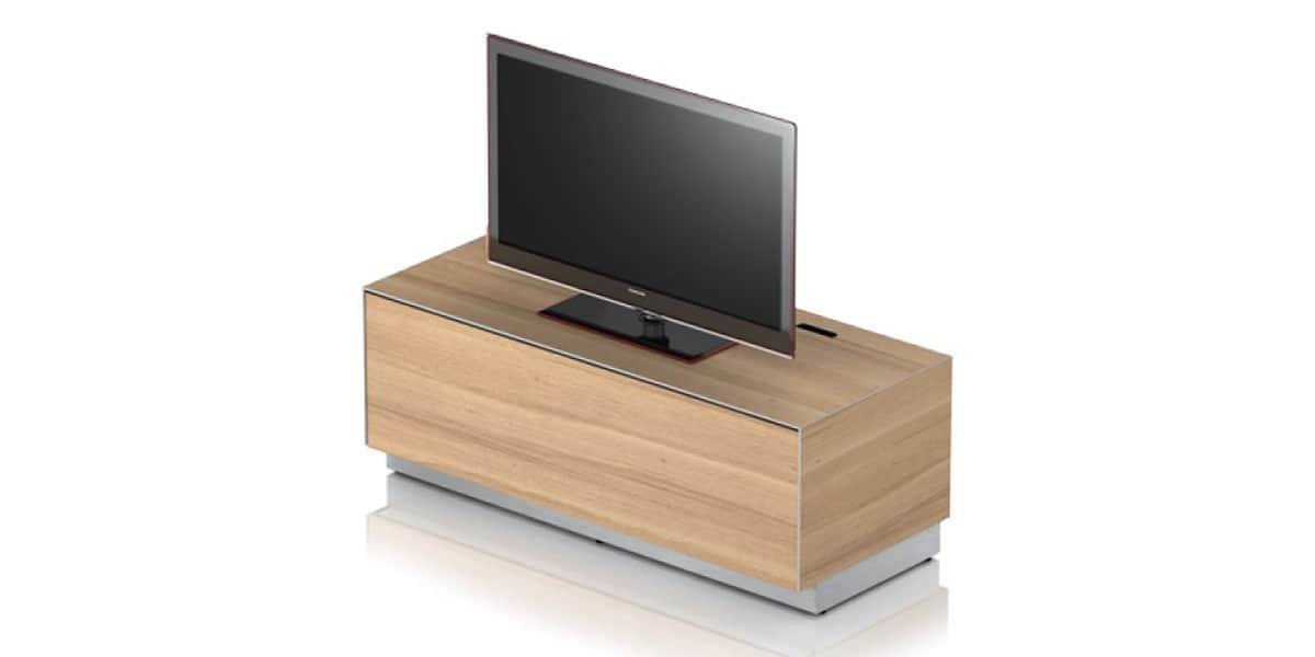 Sonorous ex10f ch ne clair meubles tv sonorous sur for Meuble tv chene clair
