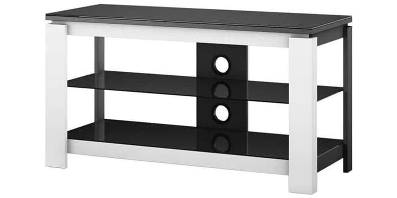 sonorous hg1030 blanc meubles tv sonorous sur easylounge. Black Bedroom Furniture Sets. Home Design Ideas