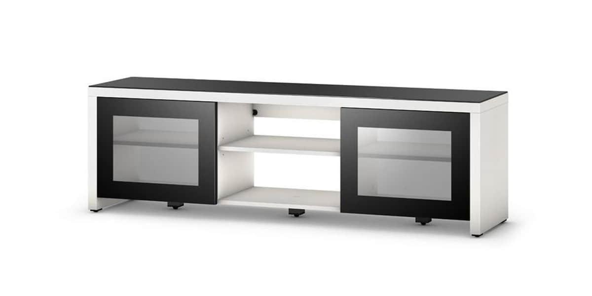 sonorous lb1620 blanc meubles tv sonorous sur easylounge. Black Bedroom Furniture Sets. Home Design Ideas