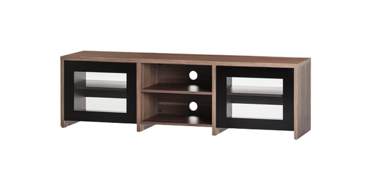 sonorous lb1620 walnut meubles tv sonorous sur easylounge. Black Bedroom Furniture Sets. Home Design Ideas