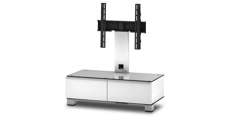 sonorous md8095 blanc meubles tv sonorous sur easylounge. Black Bedroom Furniture Sets. Home Design Ideas
