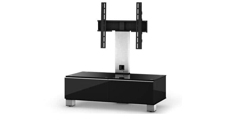 sonorous md8095 noir meubles tv sonorous sur easylounge. Black Bedroom Furniture Sets. Home Design Ideas