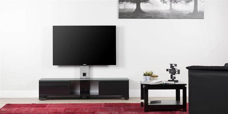 sonorous md8120 noir meubles tv sonorous sur easylounge. Black Bedroom Furniture Sets. Home Design Ideas
