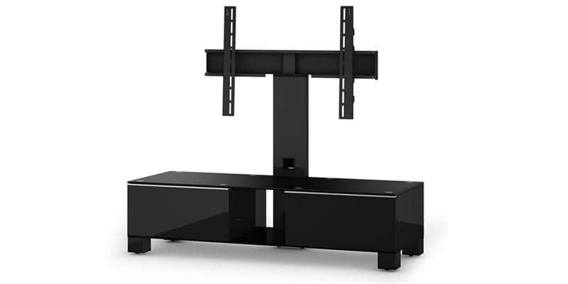 sonorous md8120 noir meubles tv sonorous sur easylounge. Black Bedroom Furniture Sets. Home Design Ideas