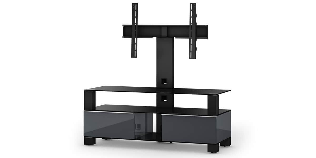 sonorous md8123 gris meubles tv sonorous sur easylounge. Black Bedroom Furniture Sets. Home Design Ideas