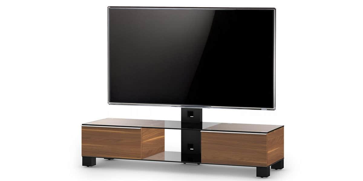 sonorous md8140 walnut meubles tv sonorous sur easylounge. Black Bedroom Furniture Sets. Home Design Ideas
