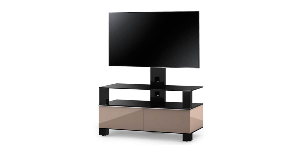 sonorous md8953 cappuccino meubles tv sonorous sur easylounge. Black Bedroom Furniture Sets. Home Design Ideas