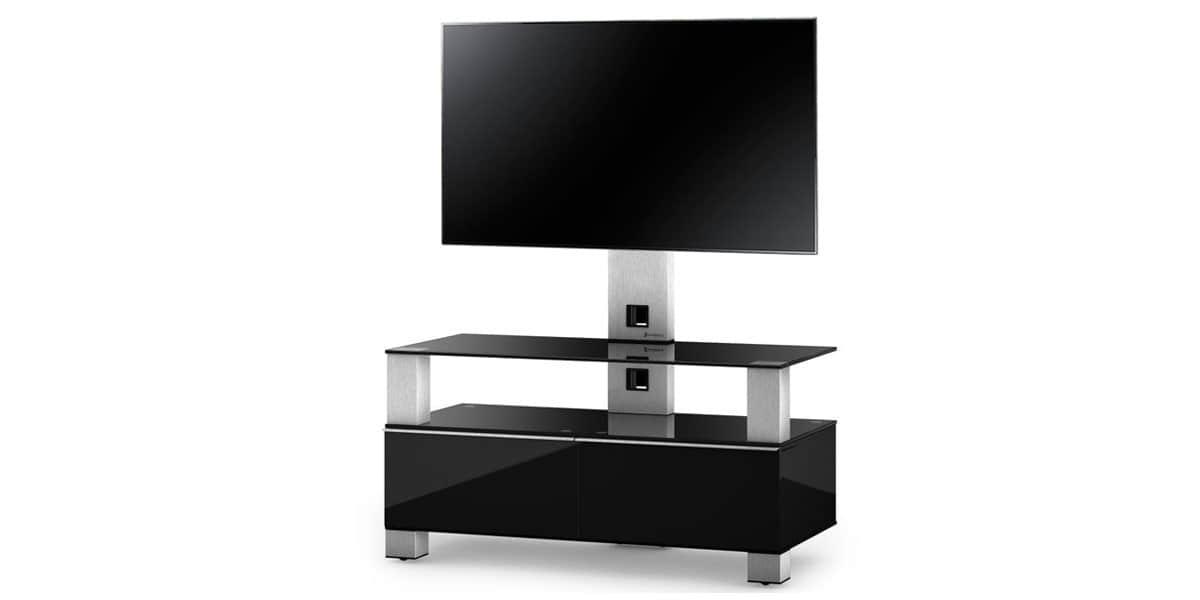 sonorous md8953 noir meubles tv sonorous sur easylounge. Black Bedroom Furniture Sets. Home Design Ideas