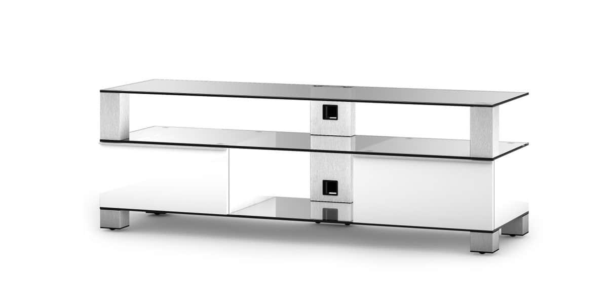 sonorous md9140 blanc meubles tv sonorous sur easylounge. Black Bedroom Furniture Sets. Home Design Ideas