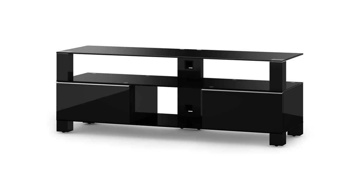 sonorous md9140 noir meubles tv sonorous sur easylounge. Black Bedroom Furniture Sets. Home Design Ideas