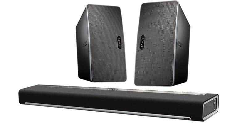 Sonos Pack Playbar et Play 3 Noir