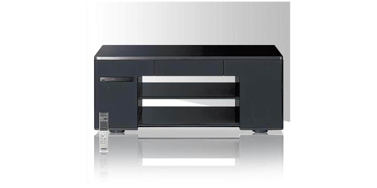 Meuble tv blanc home cinema - Meuble tv home cinema ...