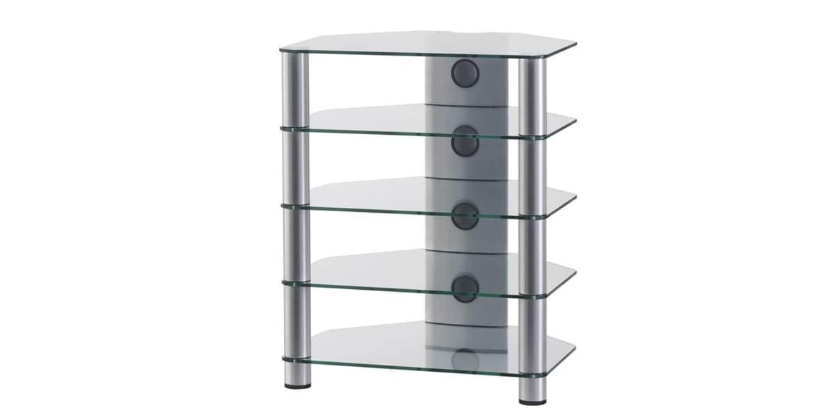 sonorous rx2150 verre argent meubles tv sonorous sur. Black Bedroom Furniture Sets. Home Design Ideas