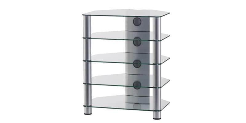 sonorous rx2150 verre argent meubles tv sonorous sur easylounge. Black Bedroom Furniture Sets. Home Design Ideas