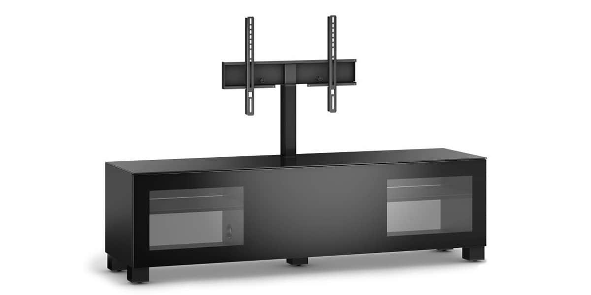 sonorous studio 161 noir meubles tv sonorous sur easylounge. Black Bedroom Furniture Sets. Home Design Ideas