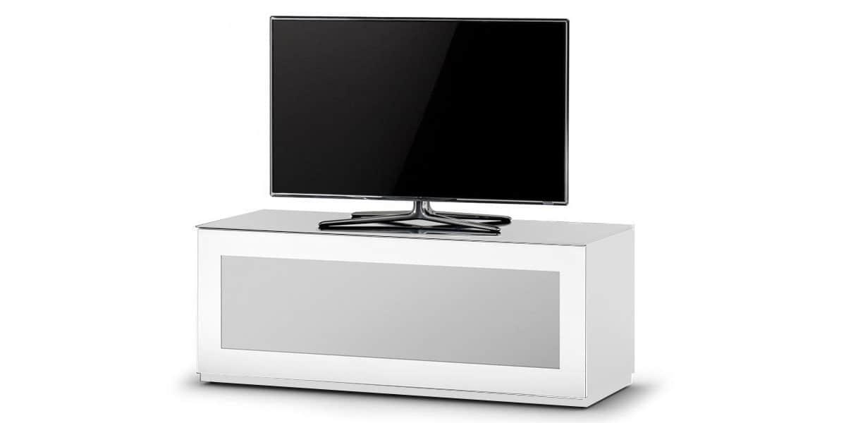 sonorous studio 110i blanc meubles tv sonorous sur. Black Bedroom Furniture Sets. Home Design Ideas