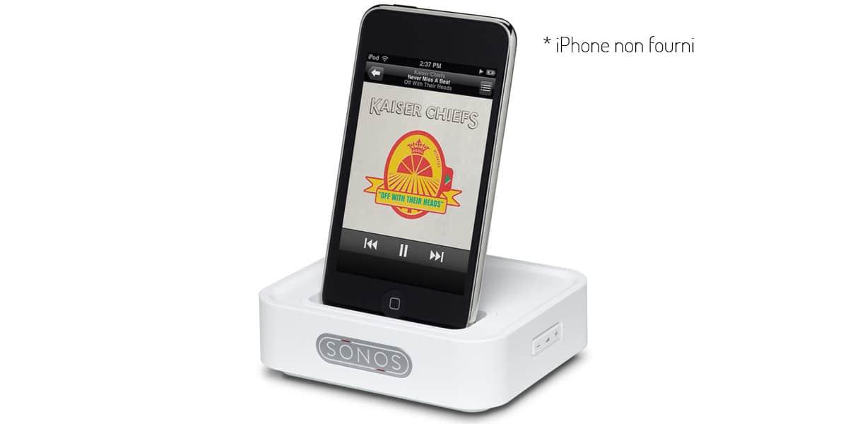 sonos wireless dock blanc docks ipod et iphone sur easylounge. Black Bedroom Furniture Sets. Home Design Ideas